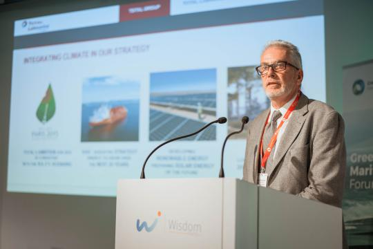 Total Lubmarine Talks Solutions at Green Maritime Forum