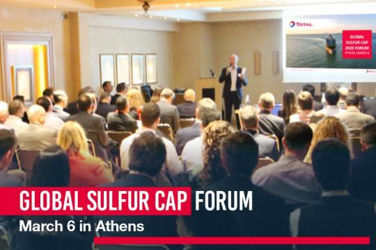 Total Global Sulfur Cap 2020 Forum series kicks-off in Athens