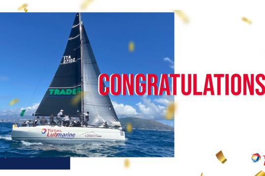 TOTAL LUBMARINE SPONSORED YACHT SCUGNIZZA RACES TO VICTORY AT THE ROLEX EUROPEAN CHAMPIONSHIP
