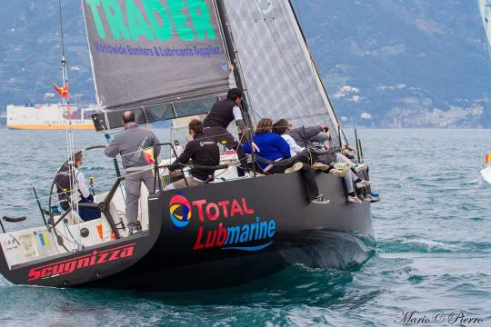 Total Lubmarine sponsored yacht Scugnizza races to victory