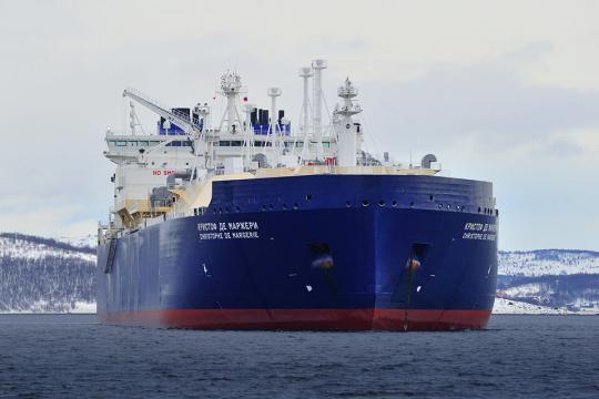 SCF's Christophe de Margerie loads from third Yamal LNG train