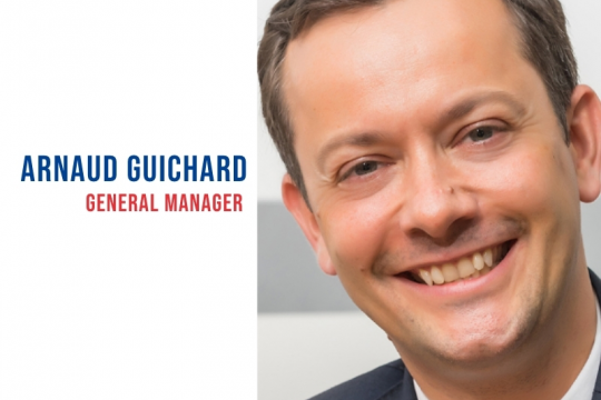 Increasing global capabilities: Arnaud Guichard joins Lubmarine to drive growth in lubricant products and services for the shipping industry.