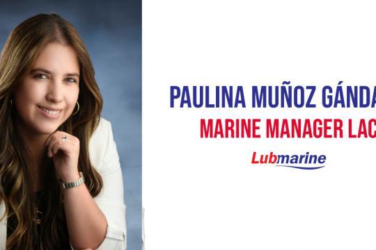 MEET PAULINA MUNOZ GANDARA, SOUTH AMERICA MARINE MANAGER