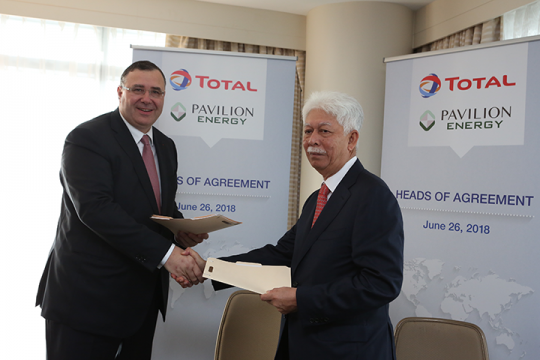 TMFGS continues to support development of LNG in Singapore