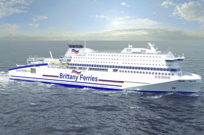 Total to supply LNG bunkers and marine lubes on new Brittany Ferries vessel