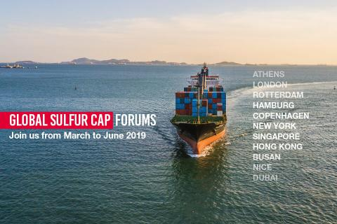 Global Sulfur Cap 2020 forums - Total confirms 11-strong list of locations
