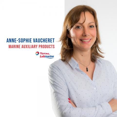 Anne-Sophie Vaucheret, Marine Auxiliary Products - Total Lubmarine