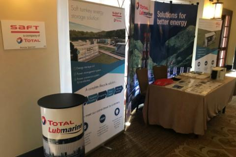 Solutions for Better Energy at CARILEC - Total Lubmarine - SAFT - Total Jamaica