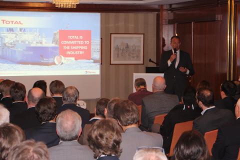 Total Global Sulfur Cap Forum in Hamburg