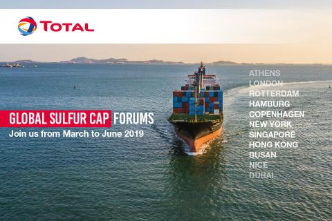 Global Sulfur Cap 2020 forums - Total confirms 11-strong list of