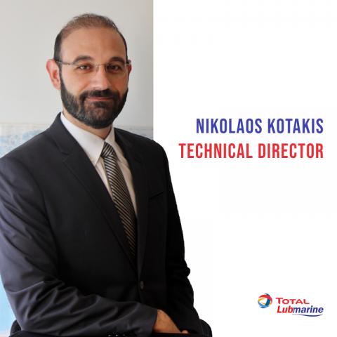 Nikolaos Kotakis - Technical Director - Total Lubmarine