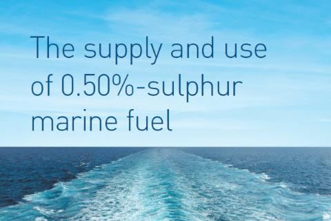 The supply and use of 0.50%-sulphur marine fuel