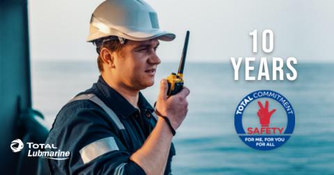 Total Lubmarine 10 year zero incident anniversary