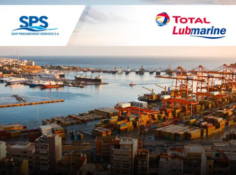 Total Lubmarine supports SPS (Starbulk Group)