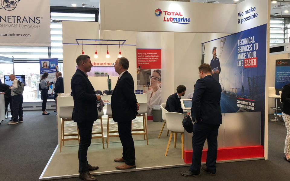 IMPA LONDON 2018 - Total Lubmarine Booth