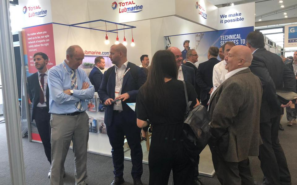 IMPA LONDON 2018 - Total Lubmarine Booth - day1