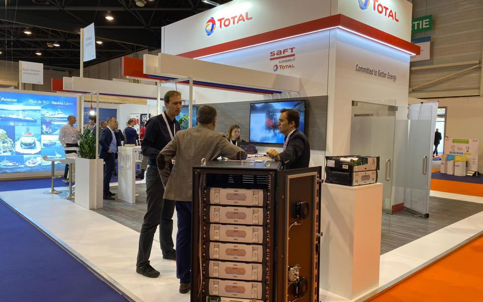 Total Stand at Euromaritime 2020